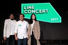 Gelar Konser Musik, Cara Line Dekati Pengguna