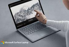 Microsoft Bikin Surface Laptop 'Pembunuh' MacBook Air