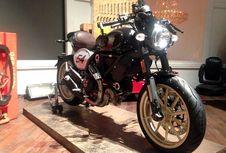 Duo Scrambler Ducati Terbaru,  Desert Sled dan Café Racer