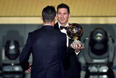 Ronaldo dan Messi Masuk 'Starting XI' Terbaik Abad Ini
