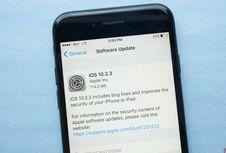 Update iOS 10.3.3 Sudah Bisa Diunduh