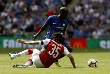 Babak Pertama Arsenal Vs Chelsea, Skor Masih Sama Kuat