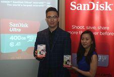 Kartu Memori MicroSD 400 GB Resmi Dijual di Indonesia