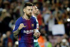 Cetak Empat Gol, Messi Pecahkan Rekor Sendiri