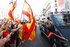 Ratusan Ribu Warga Protes Rencana Catalonia Merdeka dari Spanyol