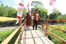 Siswa di Jabungan Semarang Kini Tak Lagi Takut Sebrangi Sungai