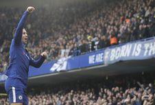 Hazard Bisa Teruskan Kiprah Messi dan Ronaldo