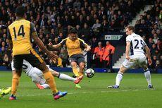 Tendangan Bebas Alexis Sanchez Bawa Arsenal Taklukkan Middlesbrough