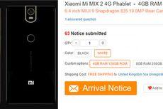 Xiaomi Mi Mix 2 Pakai RAM 8 GB?
