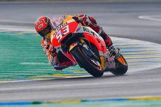 Marquez Jadi Penguasa Sesi Pemanasan GP Perancis