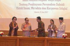 Imam dan Karyawan Mesjid Istiqlal Dapat Bantuan dan Fasilitas KPR