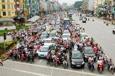 Sepeda Motor Bakal Terlarang di Ibu Kota Vietnam