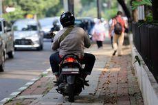 Polisi Akan Jaga Trotoar yang Sering Dilintasi Pengendara Motor