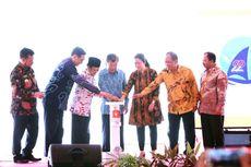 Jusuf Kalla Buka Puncak Hakteknas Ke-22 di Makassar dengan Roket Air