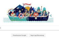 Google Doodle Hari Kemerdekaan Indonesia 2017 Digambar Artis Lokal