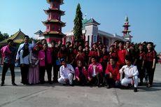 Indahnya Keberagaman pada Upacara HUT RI di Masjid Cheng Hoo Palembang