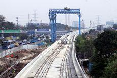 Pemerintah Selaraskan Jalur LRT Jabodebek-Jakarta di Dukuh Atas