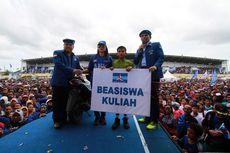 Bernama SBY, Siswa SMP Ini Dapat Beasiswa dari Politisi Demokrat