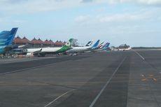 Gunung Agung Erupsi, Penerbangan Bandara Ngurah Rai Normal