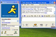 Layanan Chatting AOL Ditutup setelah 20 Tahun