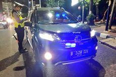 Satlantas Jakut Telah Tilang 5 Mobil Berlampu Rotator dan Strobo