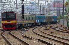 KRL Anjlok di Jatinegara Dievakuasi, Jalur Bekasi-Jakarta Kota Normal