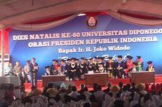 Jokowi: Undip Kampus Besar, Dua Menteri Saya dari Undip