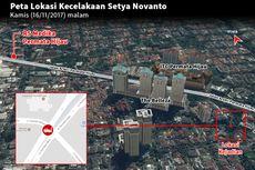 Polisi: Sebelum Kecelakaan, Setya Novanto dari Gedung DPR