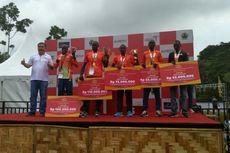 Pelari Kenya Dominasi Bank Jateng Borobudur Marathon 2017