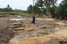 Tersapu Banjir Bandang, Sawah di Gunungkidul Tinggal Bebatuan Cadas
