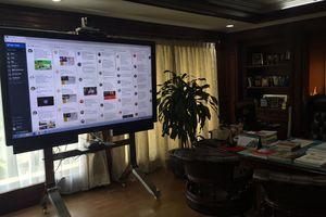 Layar Jumbo Pemantau Twitter di Ruangan Fahri Hamzah Jadi Guyonan Netizen