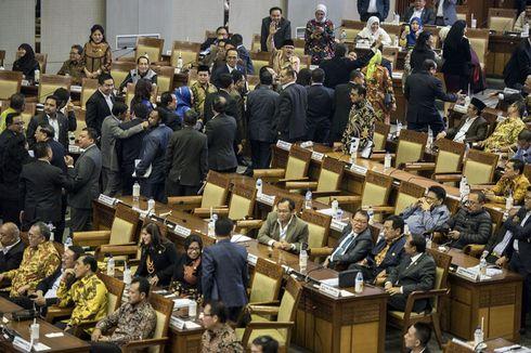 Lucunya Drama Rapat Paripurna Pengesahan UU Pemilu....
