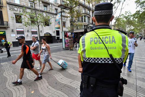 Polisi Buru Sopir Serangan Mobil di Barcelona