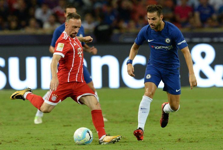 Morata Debut, Chelsea Kalah dari Bayern di Singapura