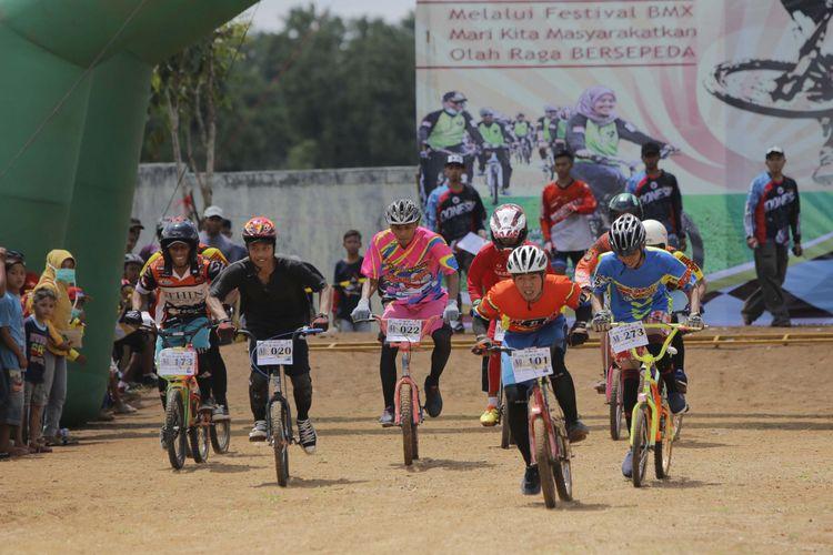Gelar Festival BMX Untuk Masyarakatkan Olahraga Bersepeda