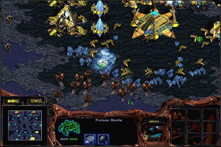 Screenshot game StarCraft