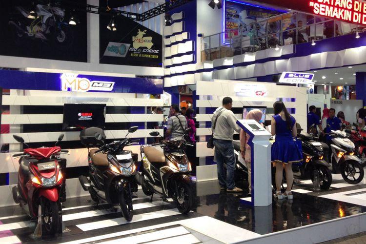 Yamaha di Jakarta Fair Kemayoran 2017.