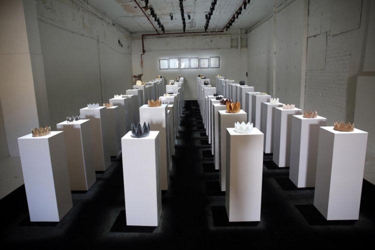 Hypercaine, seni instalasi hasil kolaborasi antara seniman Simon Birch, Gabriel Chan, Jacob Blitzer serta Gloria Yu.