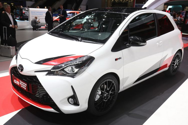 Toyota Yaris GRMN hot hatch dengan sentuhan supercharged.