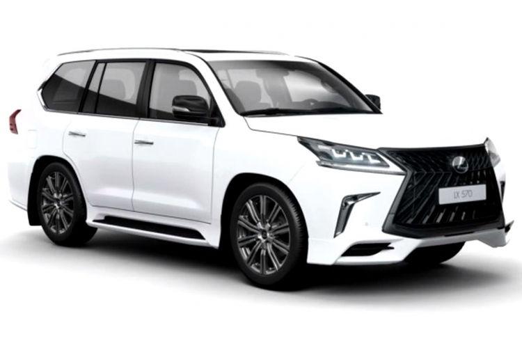 Lexus LX 570 model year 2018.