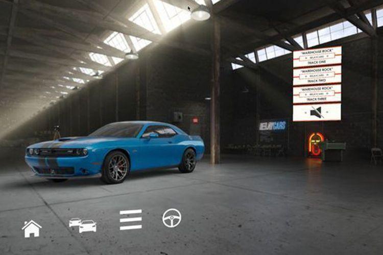 Aplikasi virtual showroom yang digagas Evox.