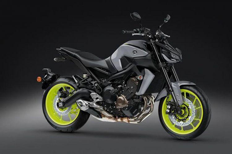 Yamaha MT-09.
