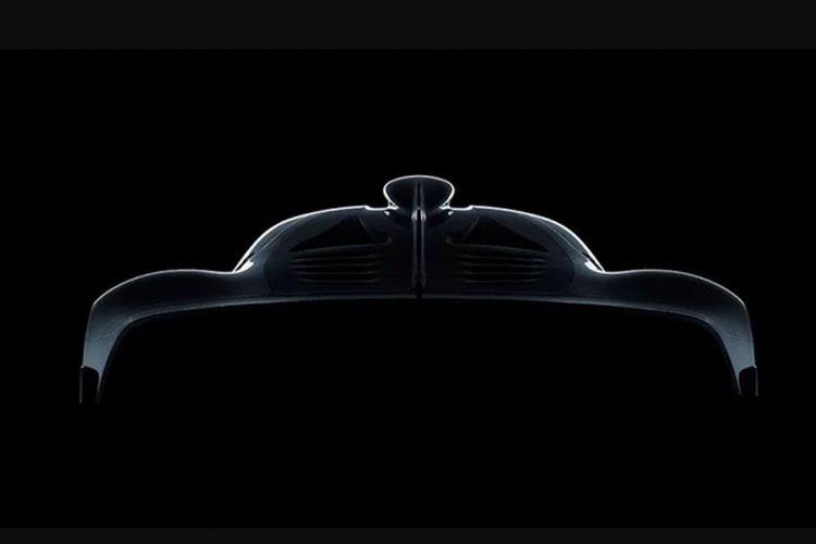 Calon hypercar Mercedes Benz.