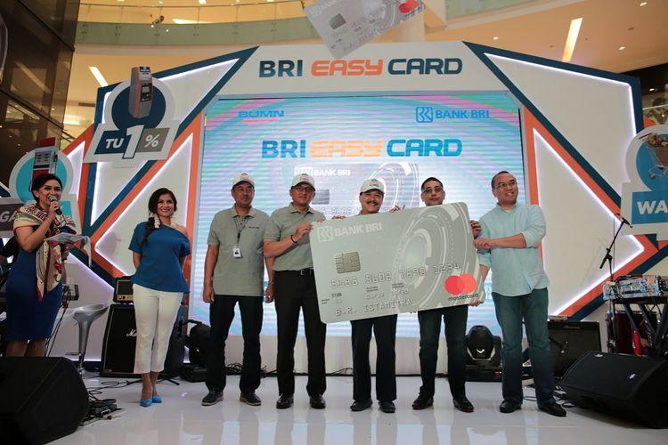 Peluncuran kartu kredit BRI Easy Card, Jumat (15/9/2017).