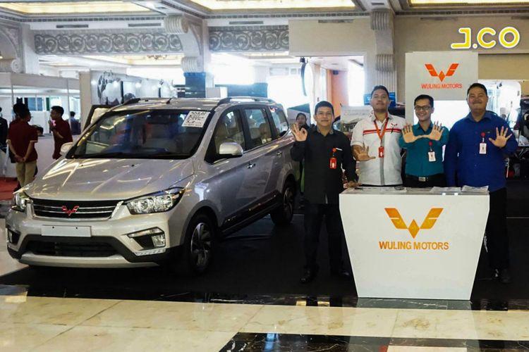 Wuling Confero dipamerkan di Main Atrium Jogja City Mall mulai tanggal 12 hingga 19 September 2017.