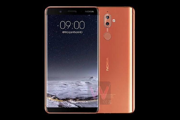 Bocoran gambar render Nokia 9