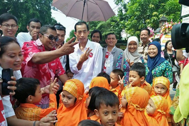 David, pria mirip Jokowi dari Bandung yang menghadiri pernikahan Kahiyang