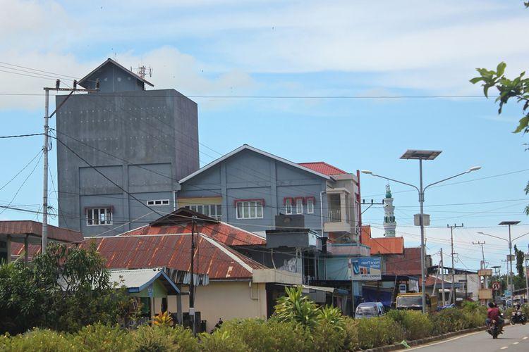 Bangunan sarang walet di Sebatik
