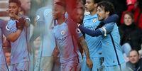 Aguero-Sane Antarkan Man City Gusur Liverpool