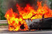 Dua Mobil Freeport Dibakar Kelompok Kriminal Bersenjata